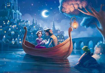 Produktfoto Fototapete - Disney Prinzessinnen Rapunzel - Vliestapete 2415WM