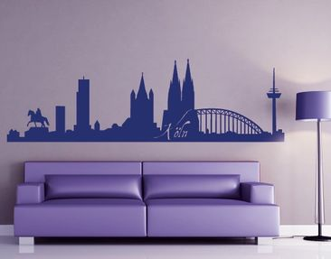 Produktfoto Wall Decal No.FB20 Cologne Skyline I