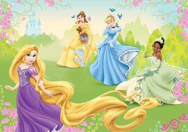 Immagine del prodotto Carta da parati - Principesse Disney Rapunzel Tiana Belle 4-017WM