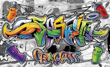 Produktfoto Fototapete - Graffiti Street Art - Vliestapete 2295WM