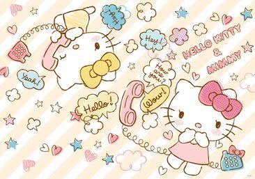 Produktfoto Fototapete - Hello Kitty - Vliestapete 1803WM