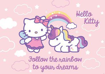 Produktfoto Fototapete - Hello Kitty - Vliestapete 1814WM