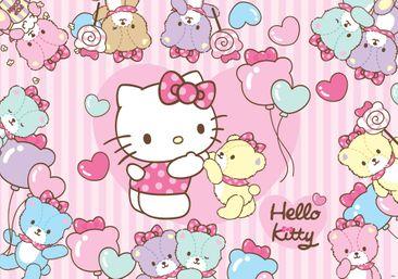 Produktfoto Fototapete - Hello Kitty - Vliestapete 460WM