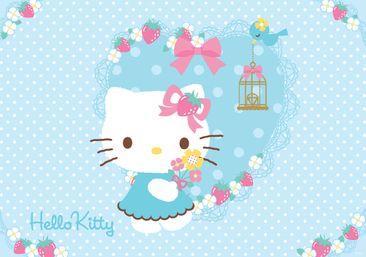 Produktfoto Fototapete - Hello Kitty - Vliestapete 461WM