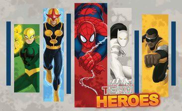 Produktfoto Fototapete - Marvel Comics Team Helden - Vliestapete 268WM