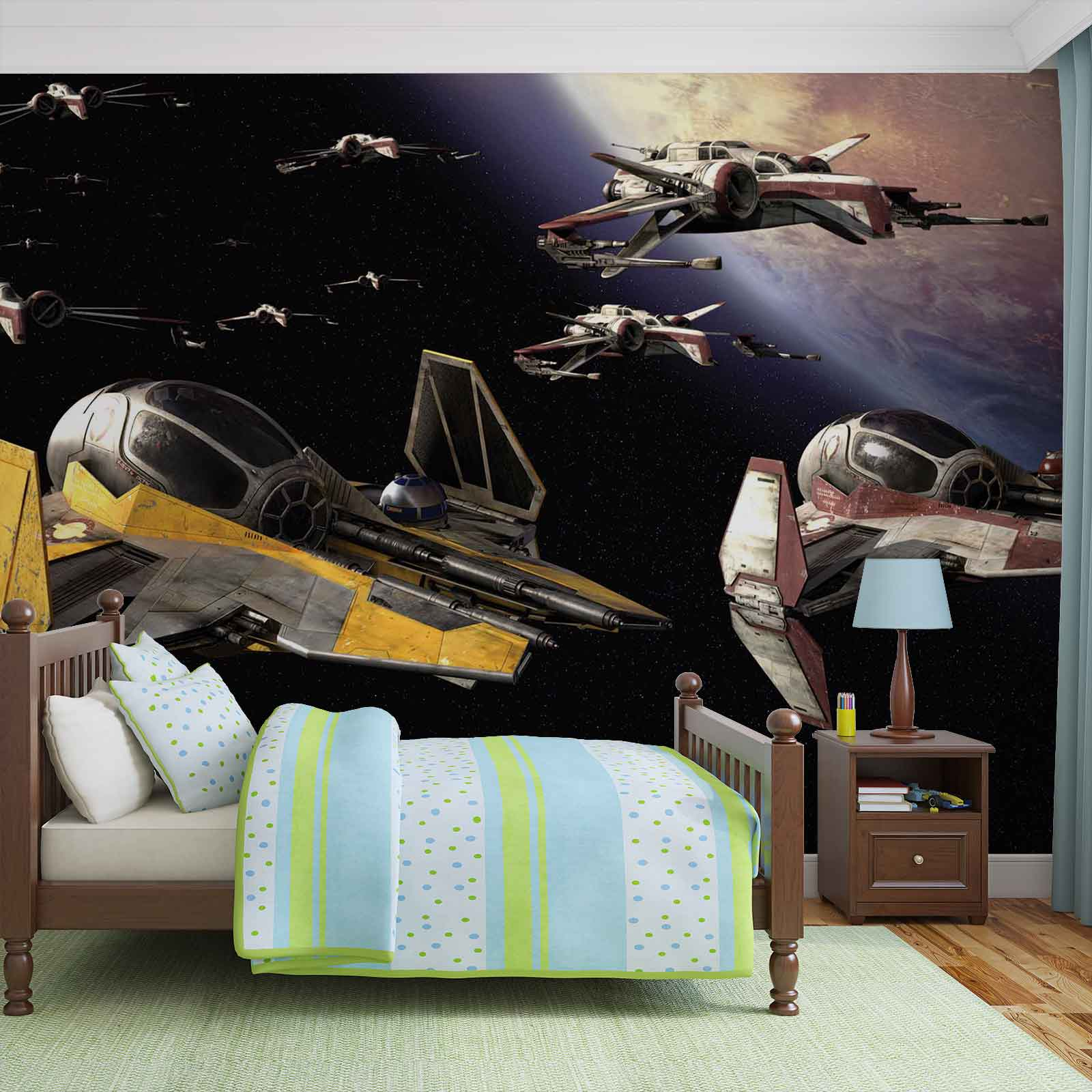 fototapete star wars anakin jedi sternj ger vliestapete 1681wm. Black Bedroom Furniture Sets. Home Design Ideas