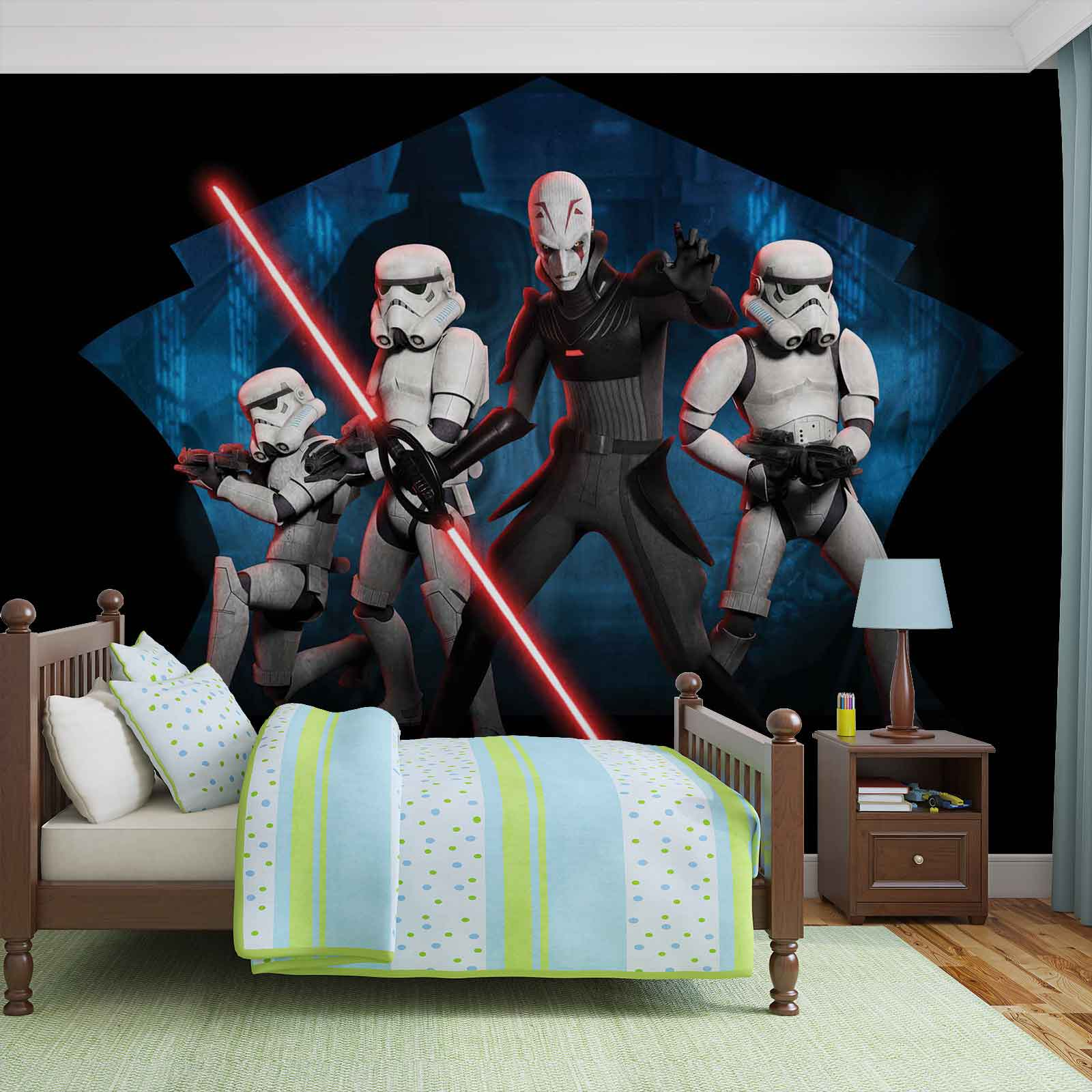 fototapete star wars rebels inquisitor sith vliestapete 1615wm. Black Bedroom Furniture Sets. Home Design Ideas