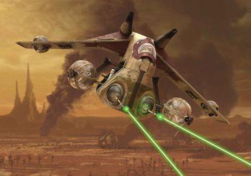 Immagine del prodotto Carta da parati - Star Wars Nave da attacco della Repubblica 1593WM