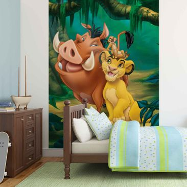 Product picture Non-woven Wallpaper - The Lion King...