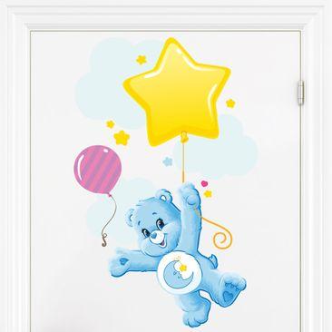 Produktfoto Wandtattoo - Glücksbärchis Fliegen mit dem Luftballon