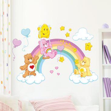 Immagine del prodotto Adesivo murale per bambini - Care Bears Rainbow bridge