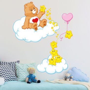 Immagine del prodotto Adesivo murale per bambini - Tenderheart Bear & Star friends