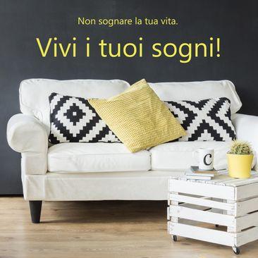 Immagine del prodotto Adesivo murale No.SF774 Vivi i tuoi sogni