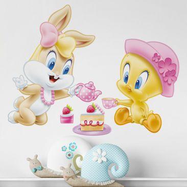 Produktfoto Wandtattoo Looney Tunes Teeparty