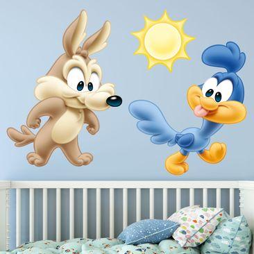 Produktfoto Wandtattoo Baby Looney Tunes Baby Wile E. Coyote & Road Runner