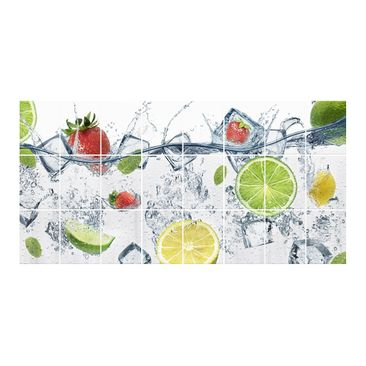 Product picture Tile Mural fruit cocktail