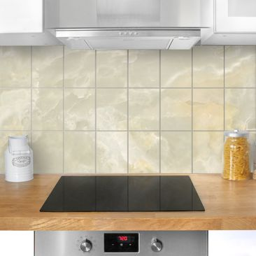 Immagine del prodotto Adesivo per piastrelle - Onyx marble Cream