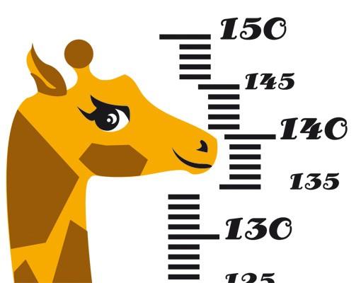 Produktfoto Wandtattoo Giraffe No.CG146 Giraffenmaßband 153x78 cm