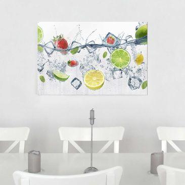 Produktfoto Glasbild - Frucht Cocktail - Quer 2:3
