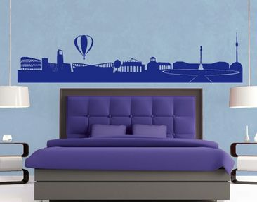 Produktfoto Wall Decal No.FB22 Stuttgart Skyline II