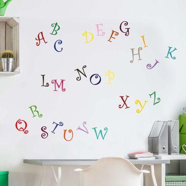 Produktfoto Wall Decal no.KS2 Magical Alphabet