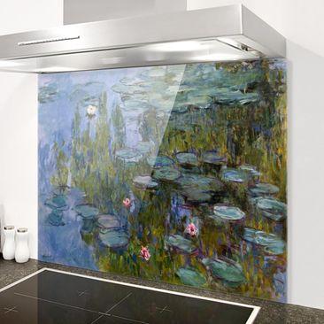 Immagine del prodotto Paraschizzi in vetro - Claude Monet - Water Lilies (Nympheas) - Orizzontale 3:4