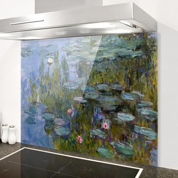 Produktfoto Spritzschutz Glas - Claude Monet - Seerosen (Nympheas) - Quer 3:4