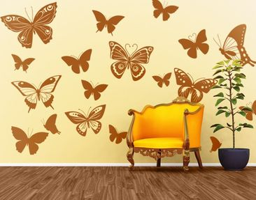 Product picture Wall Decal no.EG38 Butterflies 2