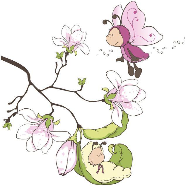 Produktfoto Wandtattoo NICI Vivian und ihr Magnolienast