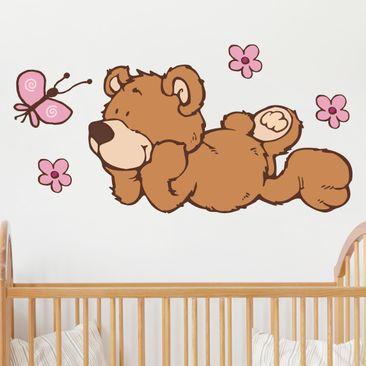 Produktfoto Wandtattoo NICI Classic Bears staunt