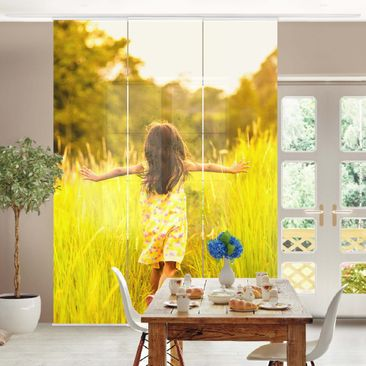 Product picture Sliding curtains set - Your Picture - 3...