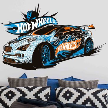 Produktfoto Wandtattoo Hot Wheels Drifter