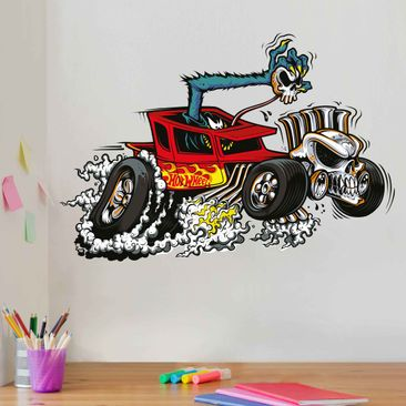 Produktfoto Wandtattoo Hot Wheels Ghost Car