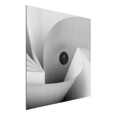 Immagine del prodotto Stampa su alluminio spazzolato - Big Eye...