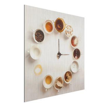 Produktfoto Aluminium Print gebürstet - Coffee Time...