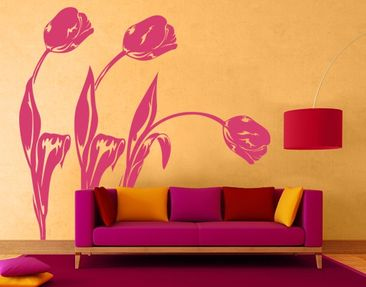 Product picture Wall Decal No.IS82 Tulips Set