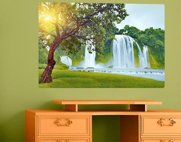 Produktfoto Wall Mural Paradise on Earth