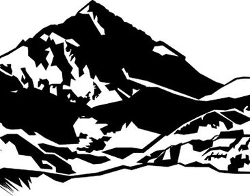 Product picture Wall Decal no.149 Montains