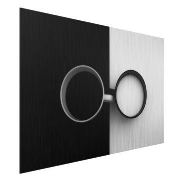 Produktfoto Aluminium Print gebürstet - Gegensätze - Querformat 2:3