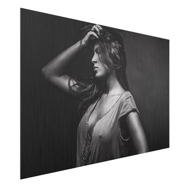 Produktfoto Aluminium Print gebürstet - Dorine -...