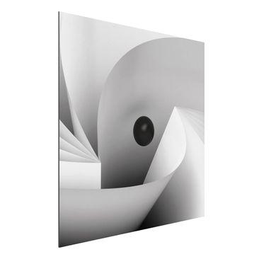Produktfoto Aluminium Print - Big Eye - Quadrat 1:1