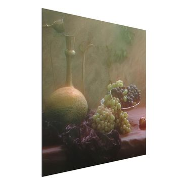 Immagine del prodotto Stampa su alluminio - Still Life With Fruit - Quadrato 1:1