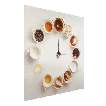 Immagine del prodotto Stampa su alluminio - Coffee Time - Quadrato 1:1