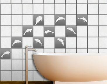 Produktfoto Tile Sticker No.67 Ten Dolphins Set