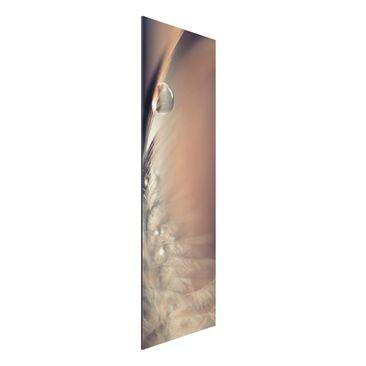 Produktfoto Aluminium Print - Story of a Waterdrop - Panorama Hochformat