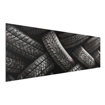 Immagine del prodotto Stampa su alluminio - Feeling Tired - Panoramico orizzontale