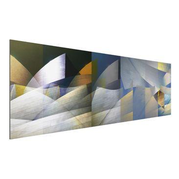 Produktfoto Aluminium Print - Geary 3 - Panorama...