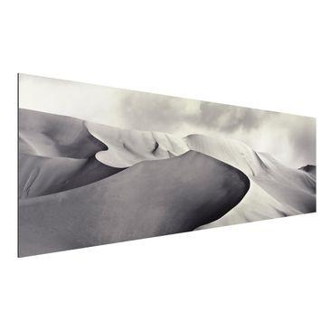 Produktfoto Aluminium Print - Im Süden der Sahara - Panorama Querformat