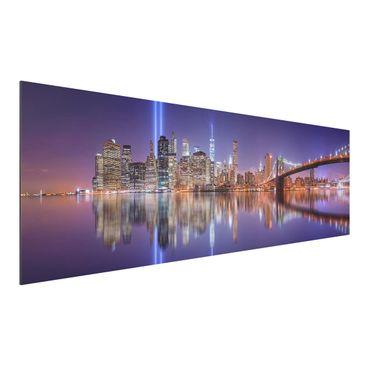 Produktfoto Aluminium Print - In Memorial - Panorama...