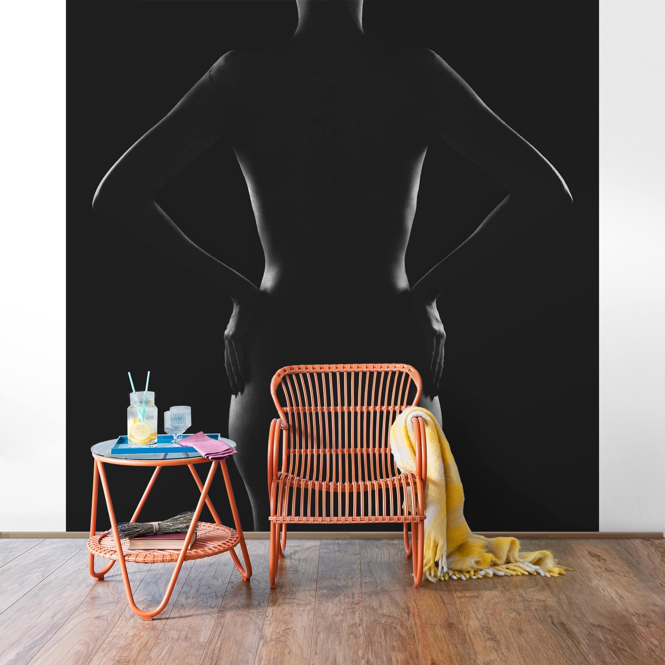 tapete selbstklebend eszter wandbild quadratisch. Black Bedroom Furniture Sets. Home Design Ideas